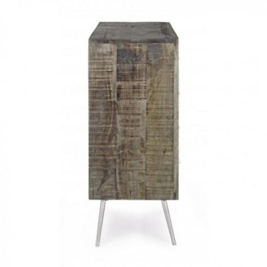 Bizzotto Norwood Ξύλινη Συρταριέρα με 4 Συρτάρια 85x35x85εκ., Φυσικό Χρώμα