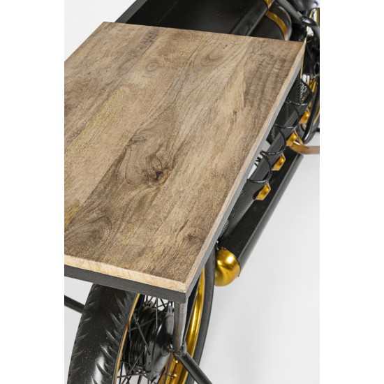 Bizzotto Κονσόλα EPIC MOTO BAR Μεταλλική 0745898 183x41x86cm
