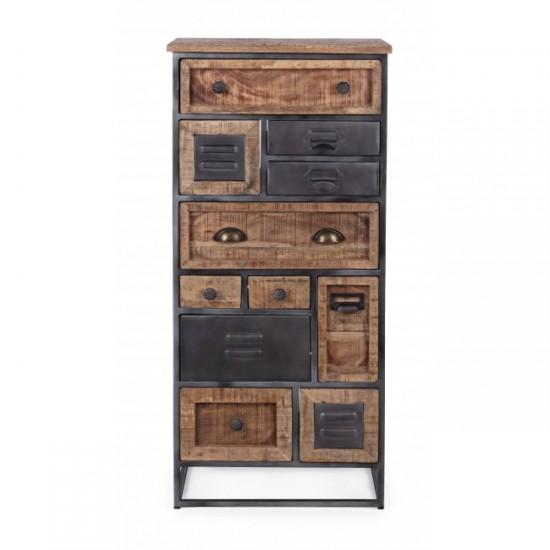 Bizzotto RUPERT Συρταριέρα με 11συρτάρια 0746493 50x34x115Υ