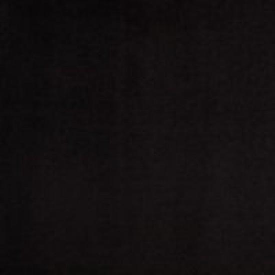 Chesterfield Σκαμπό Σαλονιού Στρογγυλό Βελούδο Μαύρο CHES123 80x80x32cm