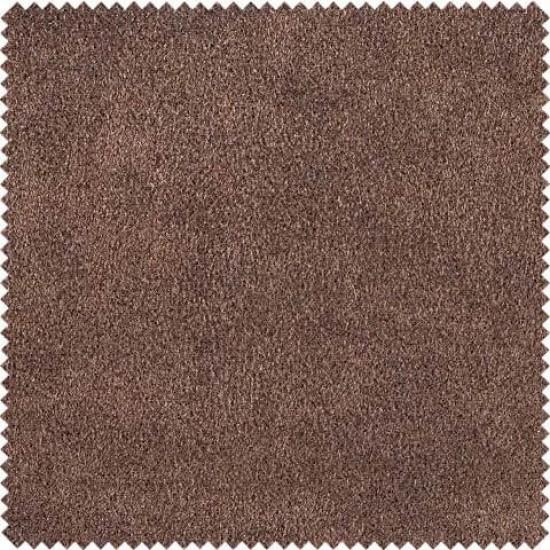 Chesterfield Σκαμπό Σαλονιού Τετράγωνο Δέρμα Σκούρο Καφέ CHES121 75x70x45cm