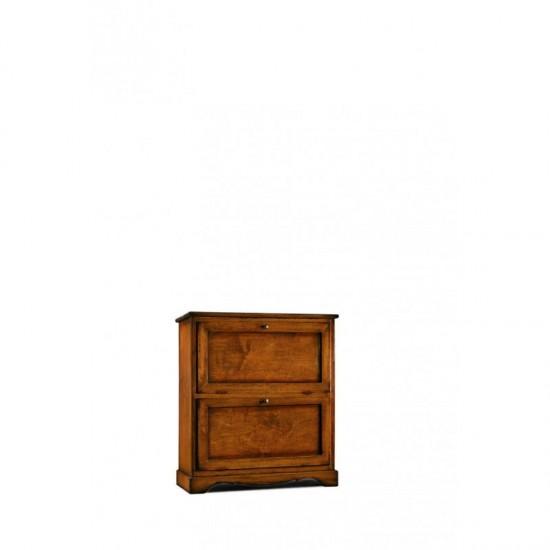 Κλασσική παπουτσοθήκη με 2πόρτες Art.279 79x30x90Y