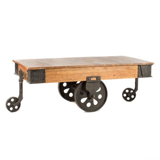 Artekko Τραπέζι σαλονιού ξύλινο 720-1158