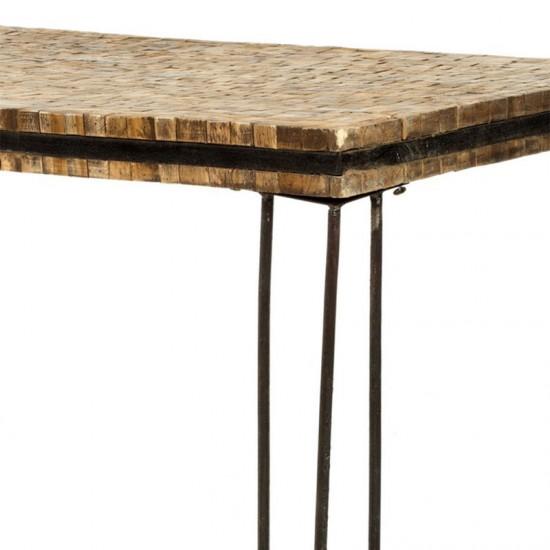 Artekko Τραπέζι σαλονιού από ξύλινους κορμούς 201-9026