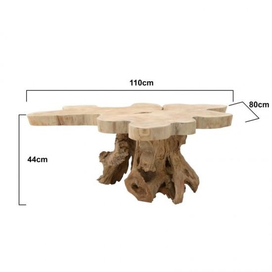 Inart Τραπέζι Σαλονιού 110x80x44cm 3-50-722-0003