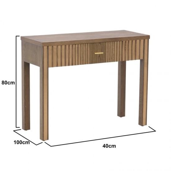Inart Κονσόλα 100x40x80cm 3-50-280-0010