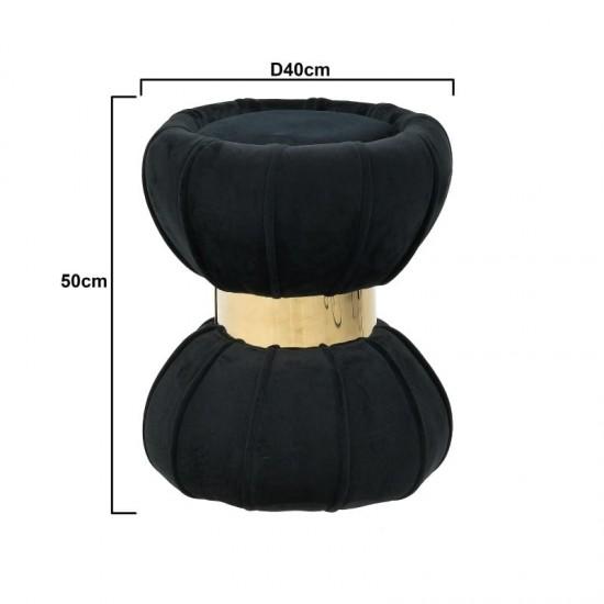 Inart Σκαμπό 40x40x50cm 3-50-762-0009