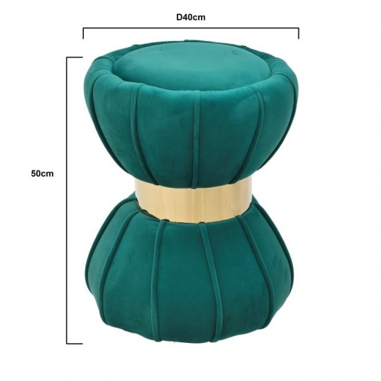 Inart Σκαμπό 40x40x50cm 3-50-762-0016