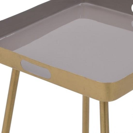 Inart Τραπέζι 41x41x50cm 3-50-650-0019