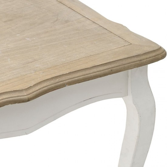 Inart Τραπέζι Ξύλινο 180x90x78cm 3-50-104-0192