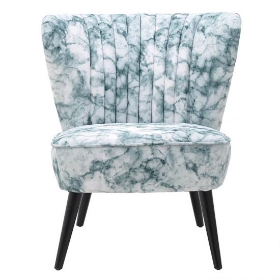 Inart Υφασμάτινη Καρέκλα 65x72.5x74cm 3-50-923-0011