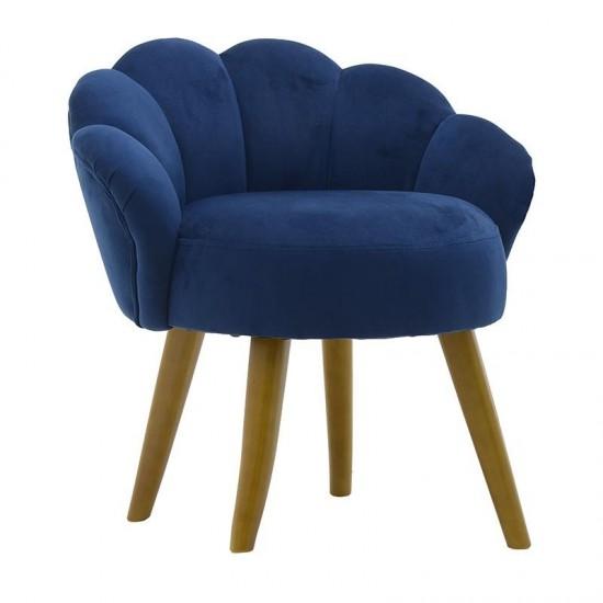 Inart Σκαμπώ Peacock 55x53x61cm 3-50-104-0390