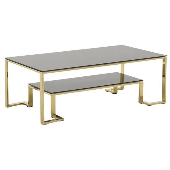 Inart Τραπέζι Σαλονιού 130x70x45cm 3-50-529-0022