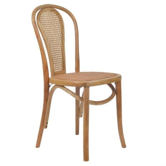 Inart Καρέκλα Μπιστρό 40x40x90cm 3-50-597-0052