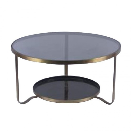 Inart Τραπέζι Σαλονιού 70x70x35cm 3-50-873-0007