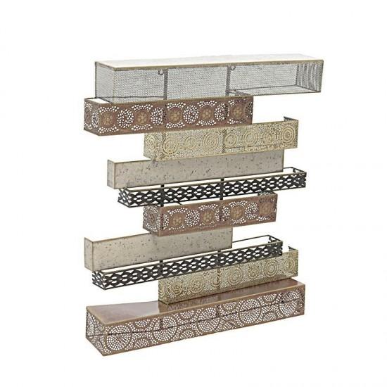 Inart Διακοσμητικό Τοίχου 59x10x65.5cm 3-70-386-0060