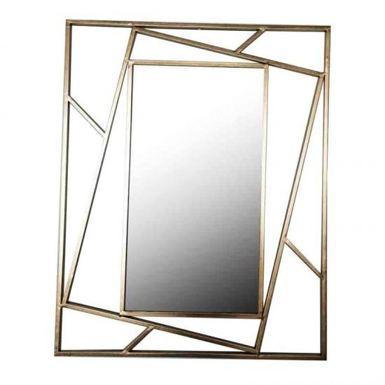 Inart Καθρέπτης Τοίχου 80x2x100cm 3-95-161-0053
