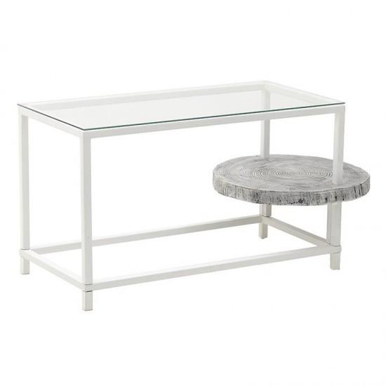 Inart Τραπέζι Σαλονιού 110x55x57cm 7-50-076-0002