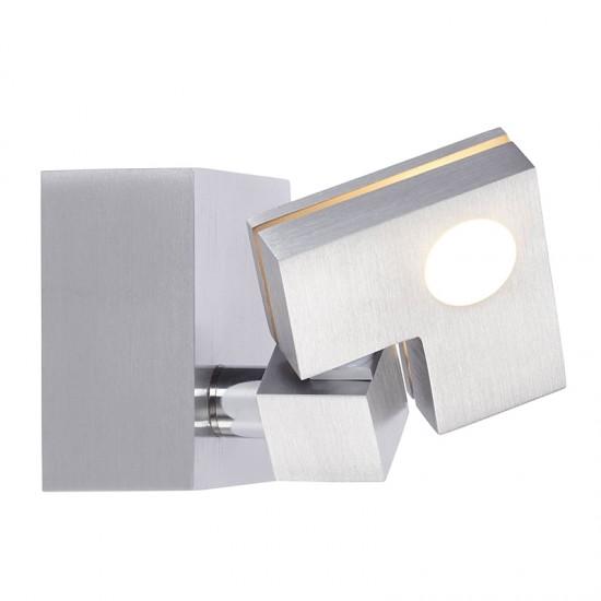 Brilliant 90 Degree Σποτ LED 3,6W Σε Αλουμίνιο Και Λευκό Χρώμα G72510/21