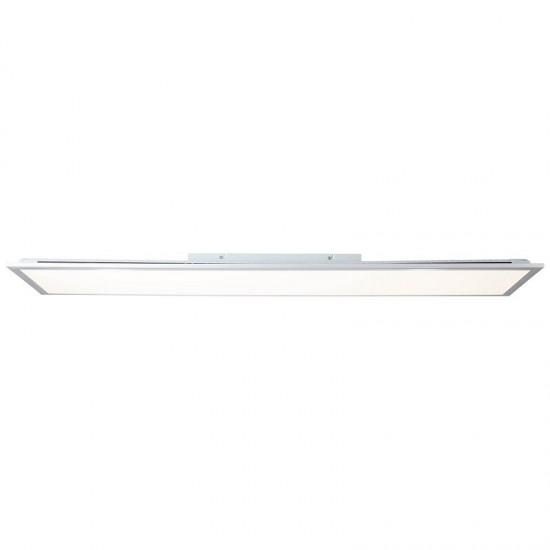 Brilliant Alissa Φωτιστικό Οροφής LED 42W Σε Ασημί Και Λευκό Χρώμα G97023/58