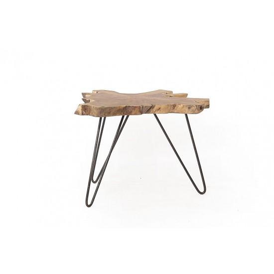 Τραπέζι καθιστικού Organic (60x60x45) Soulworks 0380017